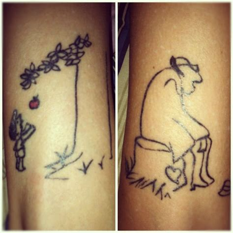 giving tree tattoo giving tree tattoos ink