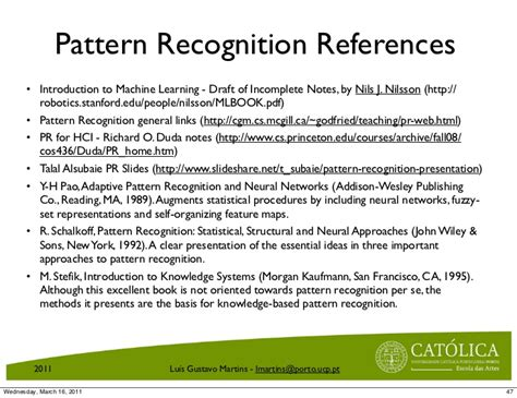pattern recognition and machine learning 2007 pdf introduction to pattern recognition