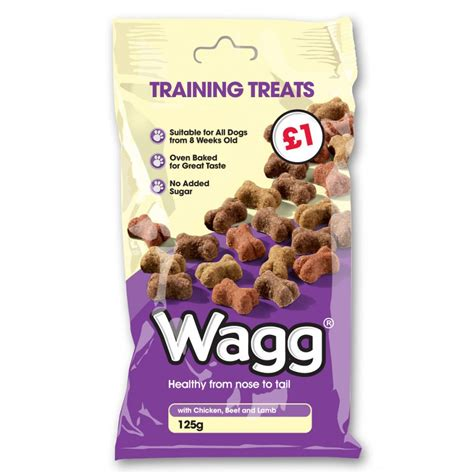 puppy treats wagg foods ltd treats 125gm feedem
