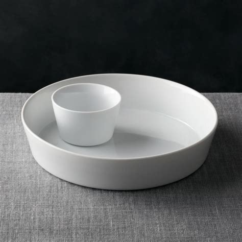 2 Piece Chip and Dip Set   Reviews   Crate and Barrel