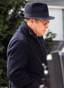 james spader jacket blacklist james spader looks dapper in a navy fedora and matching