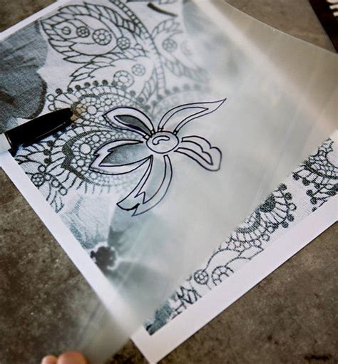 How To Make A Stencil Without Transfer Paper - 25 best ideas about stencils on