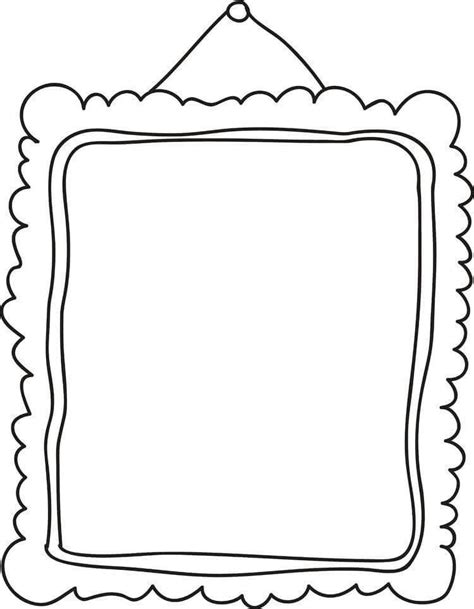 Frame Template For The Classroom Pinterest Doodle Frames Frame And Doodle Borders Frame Template