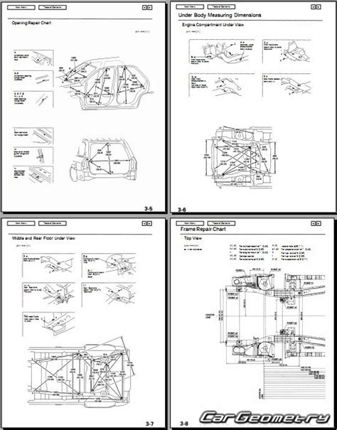 car repair manuals online pdf 2006 acura mdx transmission control геометрические размеры кузова acura mdx 2001 2006 body repair manual