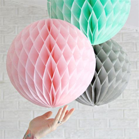 Wedding Table Party Honeycomb ***** Paper Lanterns For