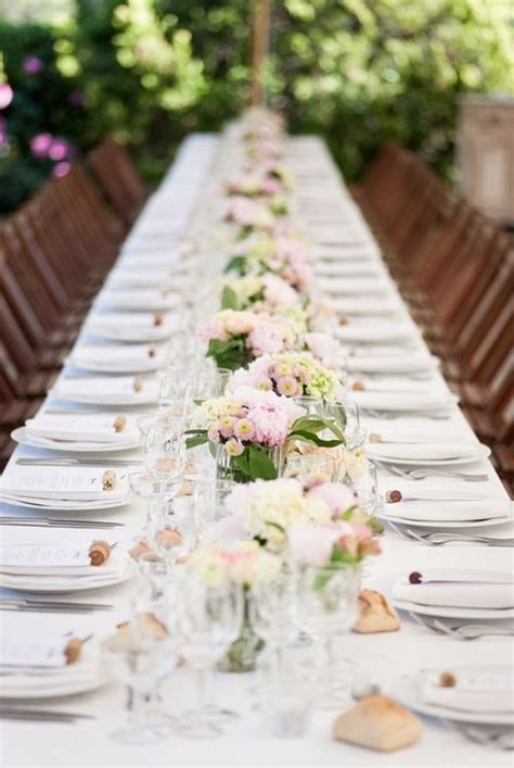 Simple Wedding Table Decorations Top 35 Summer Wedding Table D 233 Cor Ideas To Impress Your Guests