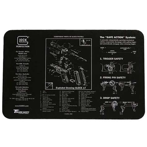 gunsmith bench mat tigerland glock gunsmith bench mat ad00062