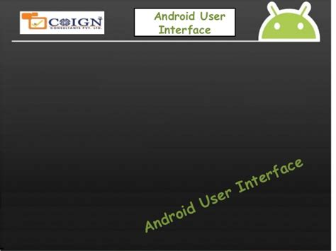android layout design ppt android layouts