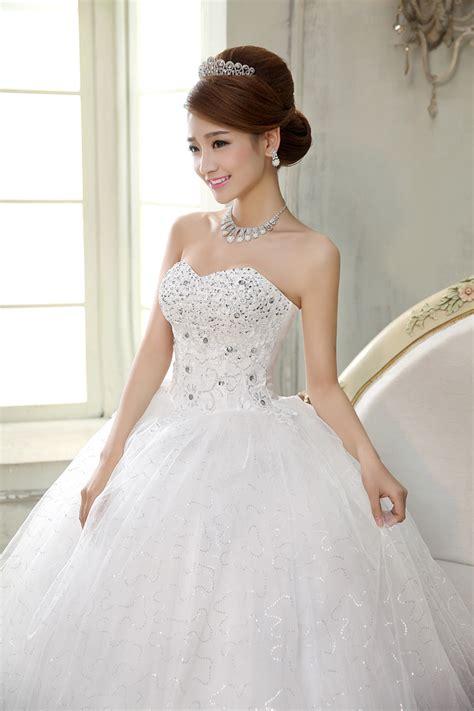 Bra Wedding Gown - w73119 new korean waist thin bra large size wedding