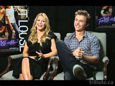 kenny wormald y su novia julianne hough kenny wormald interview footloose youtube