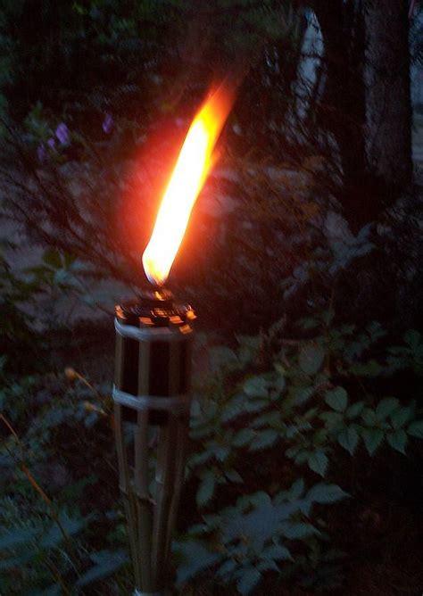 gartenfackeln kaufen bambusfackel mit 214 l gef 252 llt sp 228 tsommer im garten