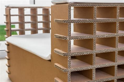 arredamenti in cartone arredi e mobili in cartone riciclo e design sostenibile