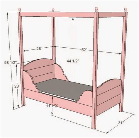 Diy Canopy Bed Frame 17 Best Ideas About Pallet Toddler Bed On Pinterest Pallet Bed Crafts Out Of Pallets And