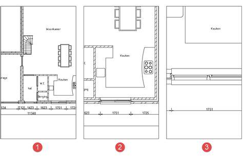 sketchup layout op schaal plattegrond tekenen op schaal gratis keuken keuken