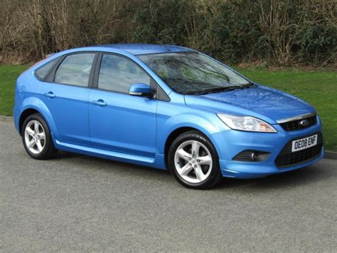 2008 Ford Focus Mpg by 2008 Ford Focus 1 6 Tdci Econetic 5 Door Manual Diesel