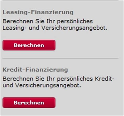 Audi Leasing Rechner by Leasingrechner Porsche Bank Vw Audi Seat Skoda