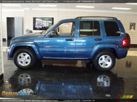 2004 jeep liberty light 2004 jeep liberty limited atlantic blue pearl light