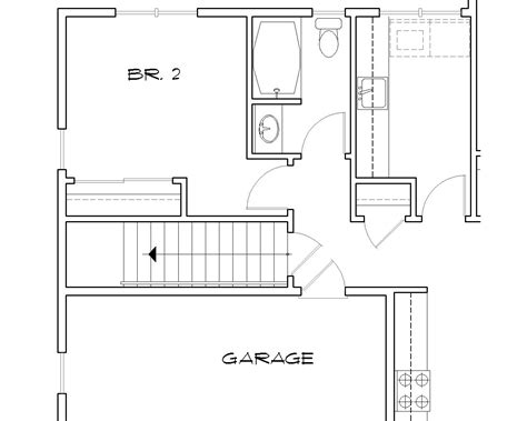 how to show stairs in a floor plan vershire 5261 2 bedrooms and 2 5 baths the house designers