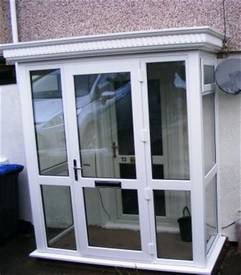 Glass Porch Doors Enclosed Porch Using A Grp Roof