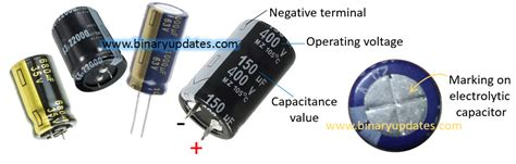 electrolytic capacitor polarity protection types of capacitors