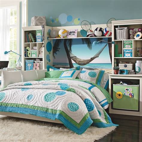 pbteen bedrooms hammock wall mural pbteen