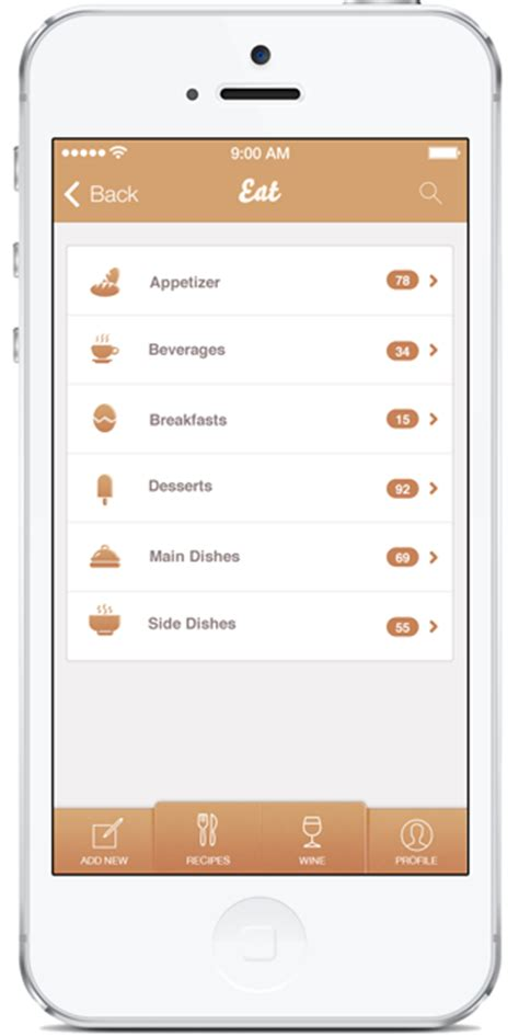 design app swift food app design template in swift objective c iphone