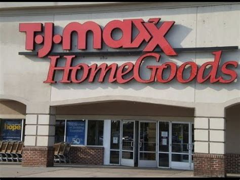 conhecendo a tj maxx e home goods