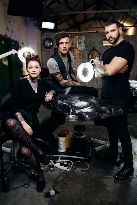 tattoo fixers lou quit tattoo fixers solve dodgy ink disasters on e4 wales online