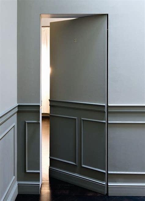 hidden door double hidden door   shelves