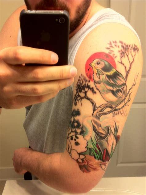how to start a sleeve tattoo starting my half sleeve tattoos