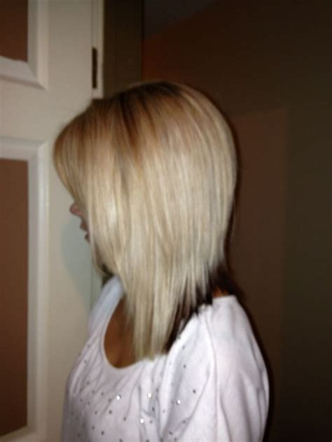 nverted bonforhick hair inverted long bob got it done at work in love hair