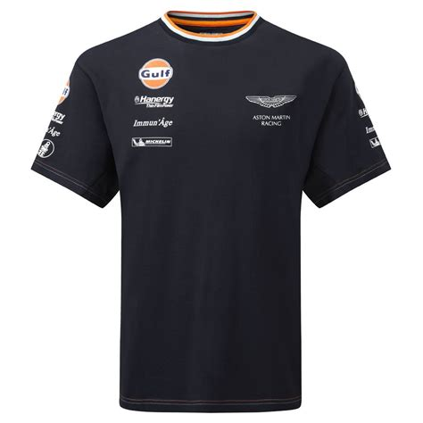 Aston Martin Shirt by Aston Martin Racing 2015 Team T Shirt By From 195mph