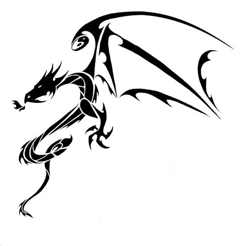 tattoo tribal dragon designs 22 beautiful tribal only tribal