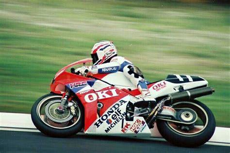 Motorrad Gp 1990 quot mick quot doohan honda rvf 750 suzuka 8h 1990 mick
