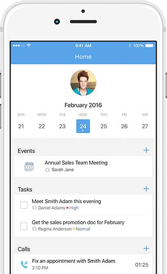 mobile zoho mobile crm app for sales zoho crm