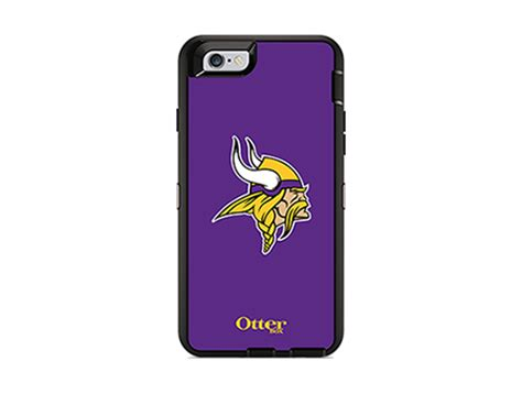 Map Of Nfl Popular Team Iphone 6 6s otterbox defender series nfl minnesota vikings and holster for iphone 6 6s at t