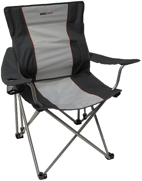 obusforme 174 ergonomic folding chair with lumbar support