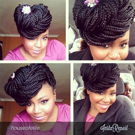 how to pin up box braids 89 best images about box braids on pinterest hair