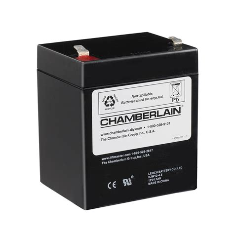 chamberlain battery backup system replacement battery