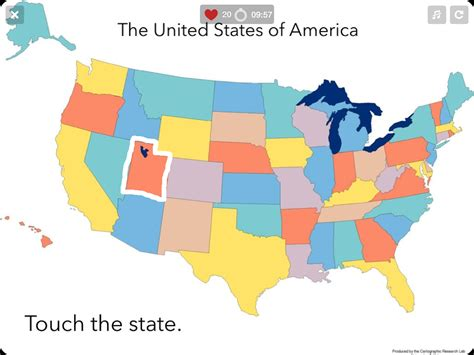 online map of the united states quiz us states map quiz 50 states android apps on google play