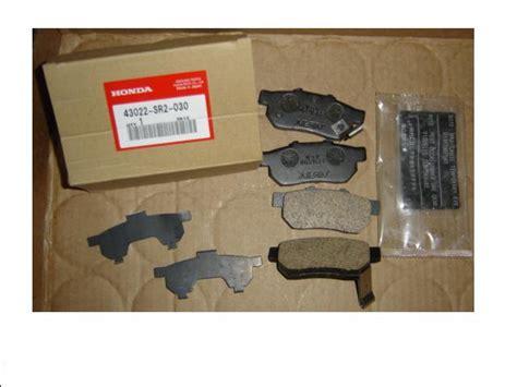Brake Pads Nissin Made In Japan Honda Crv 2 2002 20 Murah oem rear disc brake pads genuine honda for acura integra honda civic crx sol