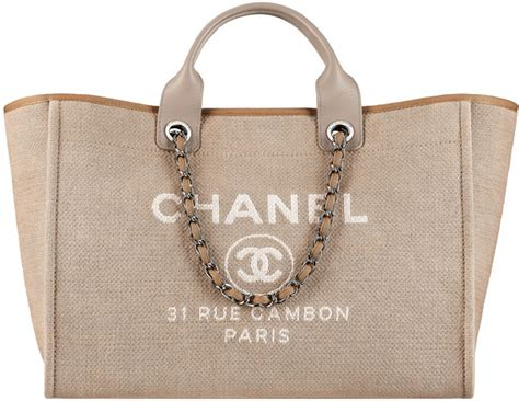 Chanel Deauville Shopping Tote Bags 972 chanel pre summer 2015 classic bag collection