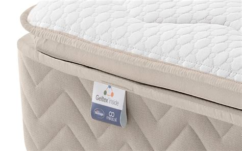 silentnight helsinki miracoil geltex pillow top divan