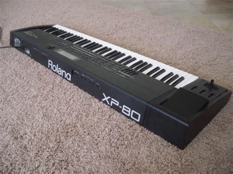 Keyboard Roland Xp 80 roland xp 80 clickbd