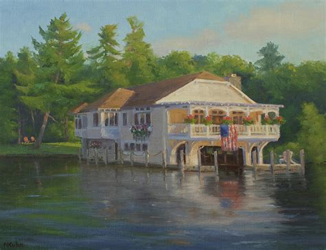 lake george bed and breakfast the boathouse bed and breakfast on lake george ny painting