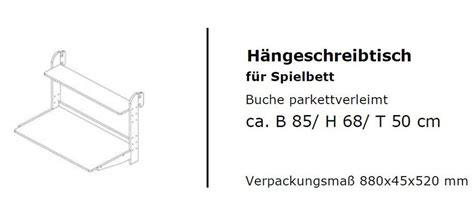 kinderzimmermobel buche massiv hochbett 210x112x103cm schr 228 gleiter schreibtisch
