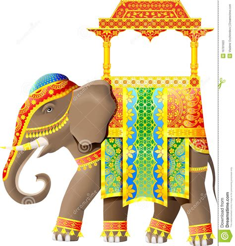 indian clipart elephant clipart