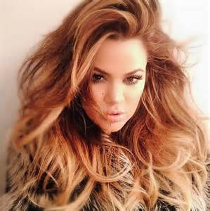 new hair in big khloe kardashian looks amazing with huge super glam hair
