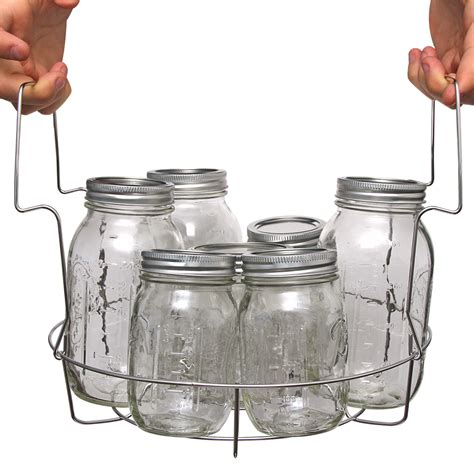Canner Rack by Stainless Steel Canning Rack With Jar Dividers Vkp1057