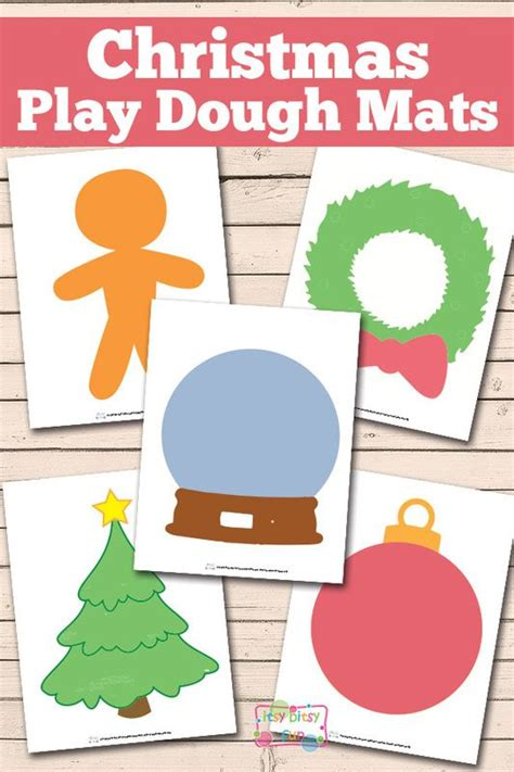 printable playdough mats christmas play dough mats free printable play dough
